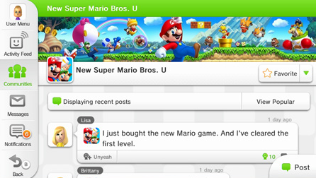Modojo | Nintendo Miiverse App Coming To Smartphones And Tablets