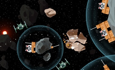 Modojo | Angry Birds Star Wars Updated With 20 Escape From Hoth Levels