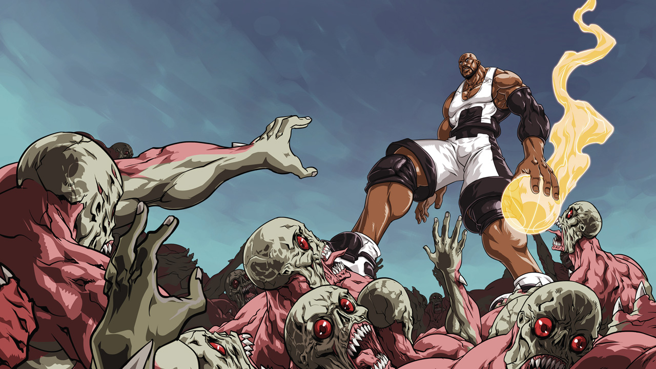 Modojo | Shaquille O'Neal Takes On The Zombies In ShaqDown