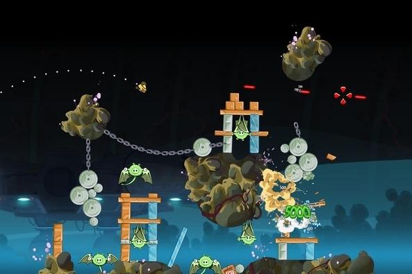 Modojo   Angry Birds Star Wars: Escape From Hoth Walkthrough