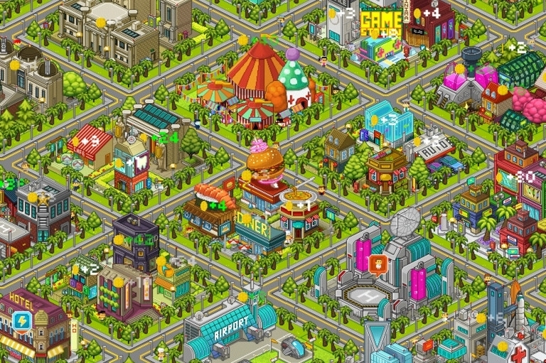 Modojo | Pixel People Cheats And Tips: All The Buildings