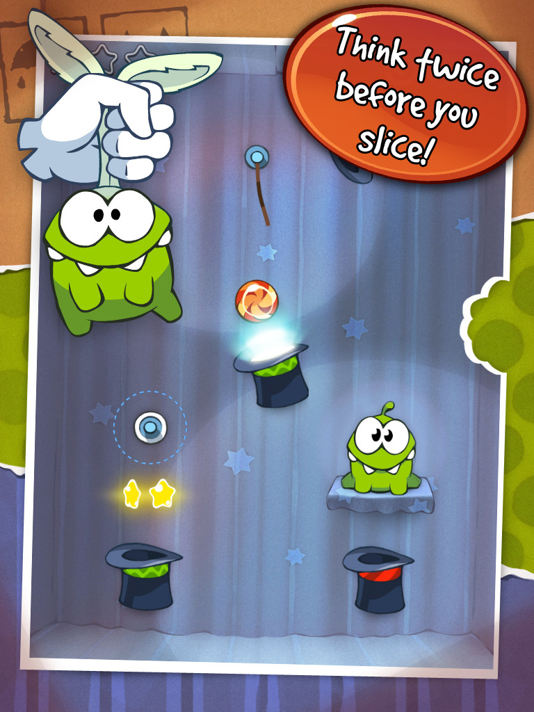 Modojo | Cut The Rope 'Lantern Box' Walkthrough: Levels 1-10