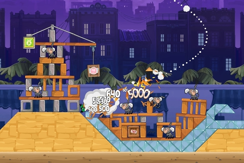 Modojo | Angry Birds Rio Market Mayhem Walkthrough