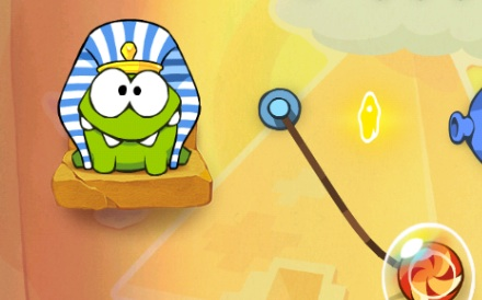 Modojo | Cut The Rope: Time Travel Introduces Om Nom To Long-Lost Relatives
