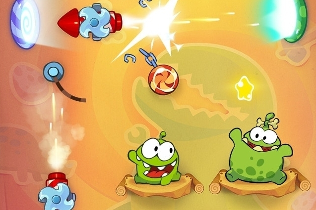 Modojo | Cut The Rope: Time Travel Cheats And Tips - The Stone Age Walkthrough
