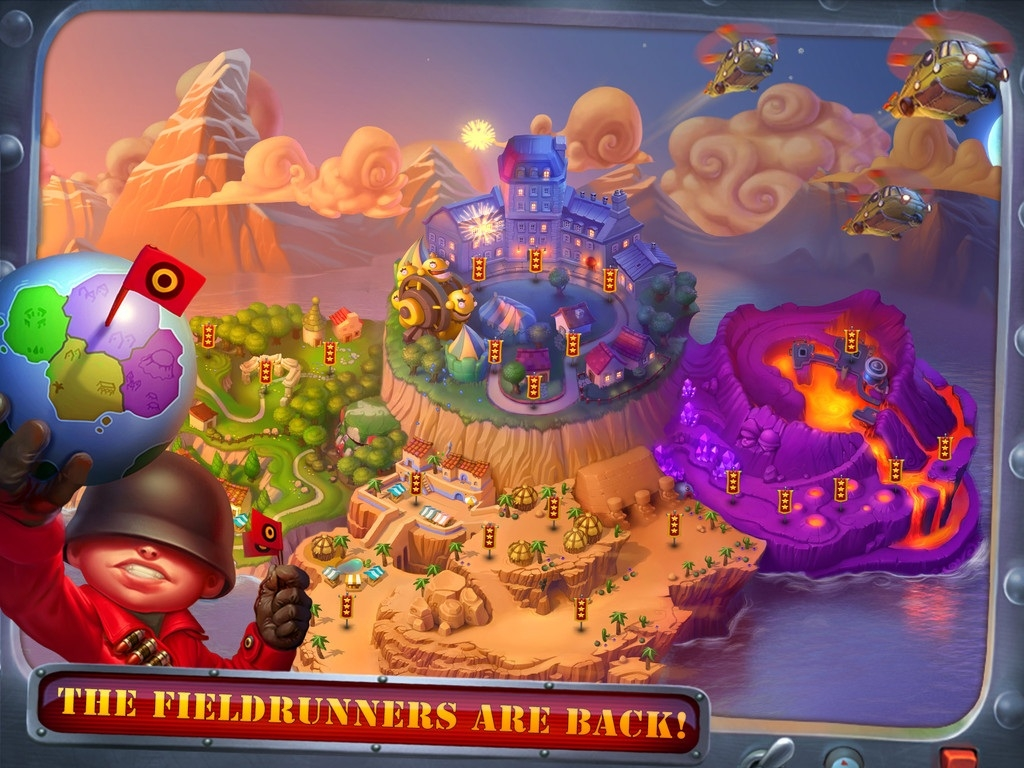 Modojo | Fieldrunners 2 For Android Launching At Noon Today