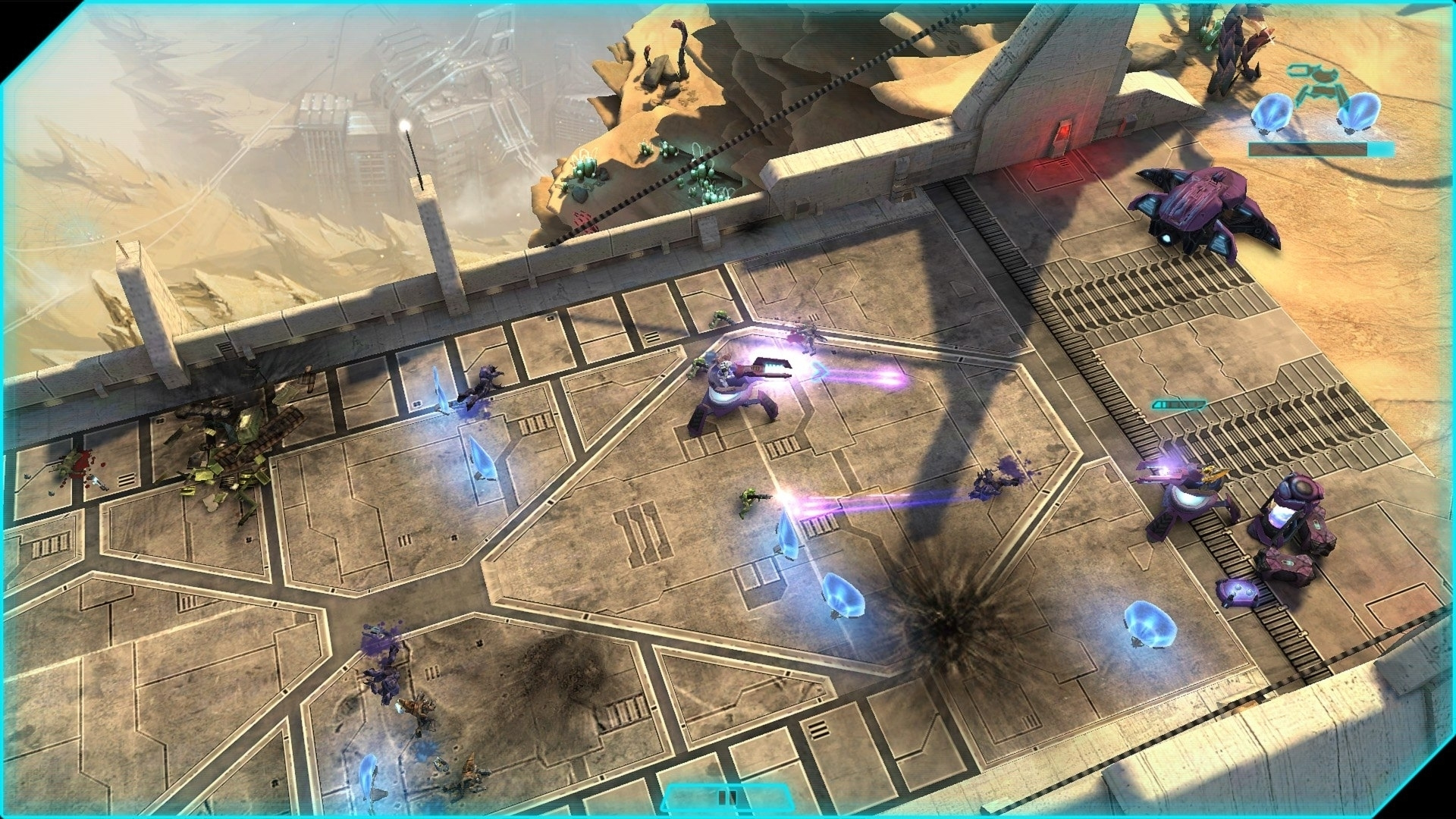 Modojo | Halo: Spartan Assault - First Gameplay Footage