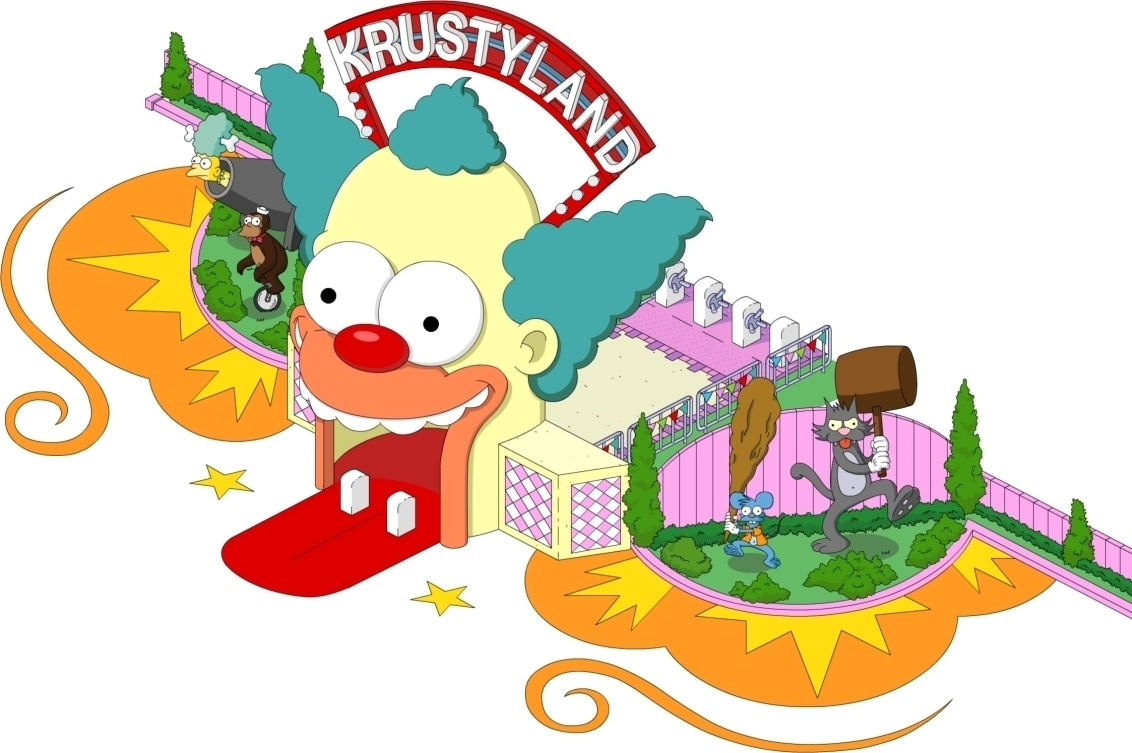 Modojo | The Simpsons: Tapped Out - Krustyland Guide