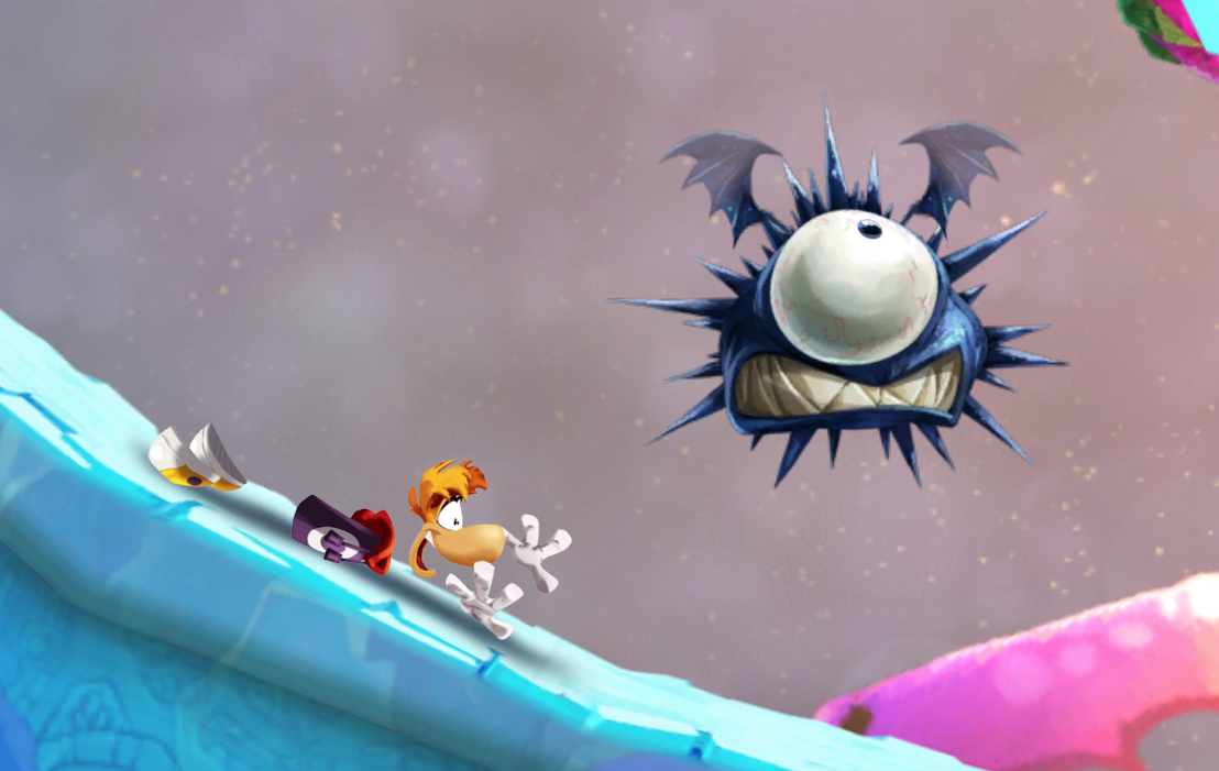 Modojo | Rayman Fiesta Run Sprints Its Way To Mobile November 7th
