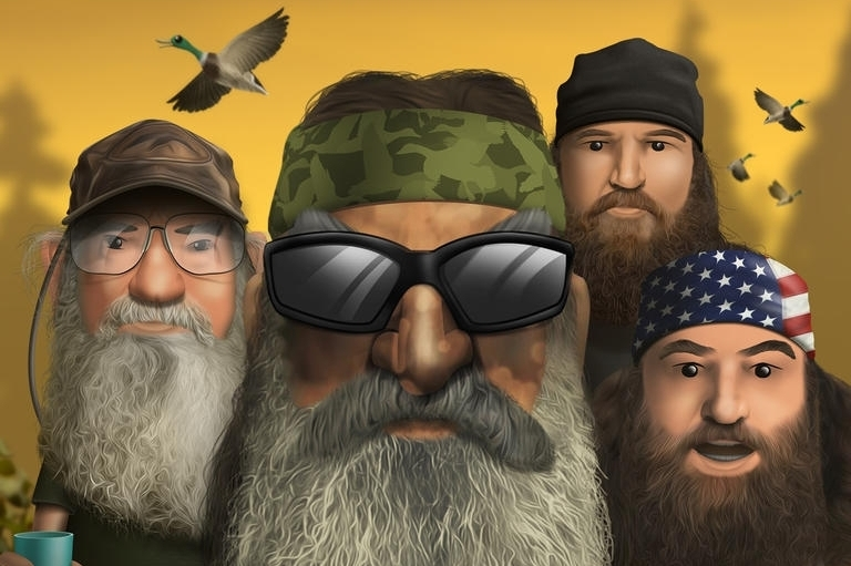 Modojo | Duck Dynasty: Battle Of The Beards