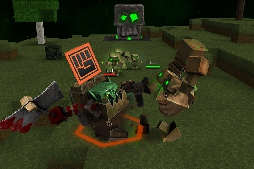 Modojo | Block Fortress War Screenshots Surface