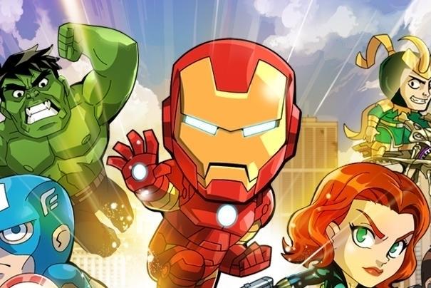 Modojo   Marvel Run Jump Smash!
