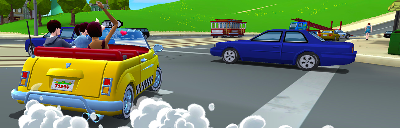 Modojo | Crazy Taxi: City Rush Making Crazy Money For iOS And Android