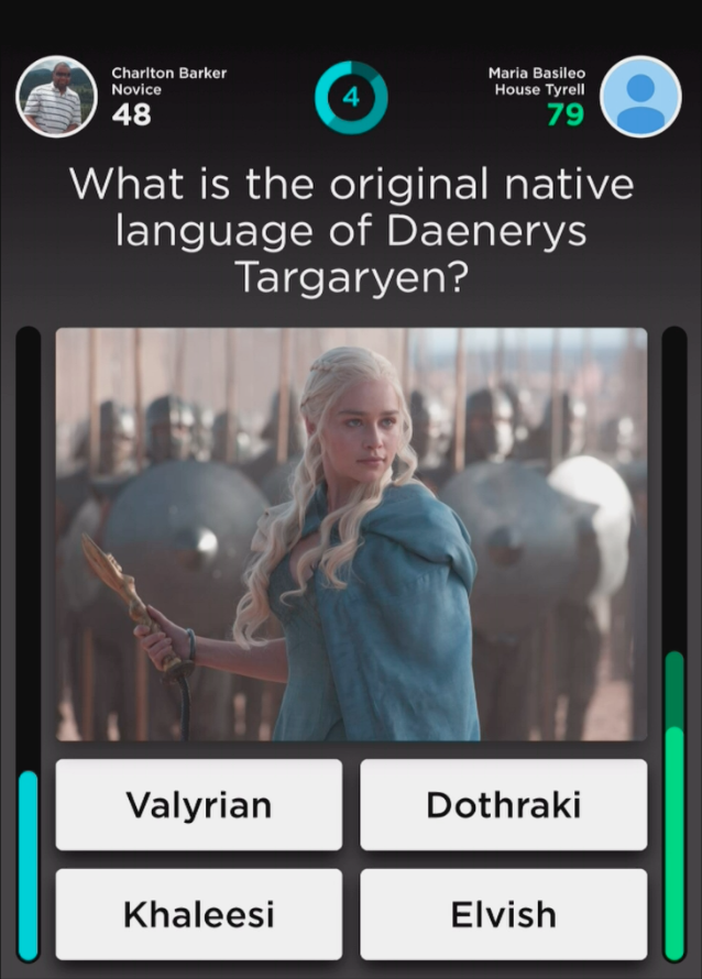 Modojo | QuizUp Answers - Game of Thrones Trivia