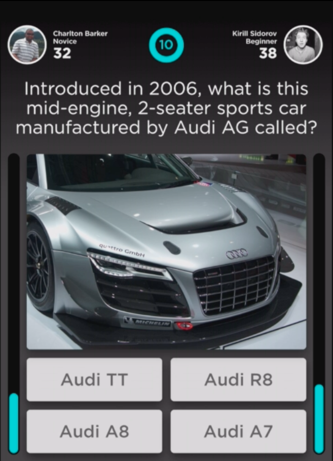 Modojo | QuizUp Answers - Name the Car Trivia