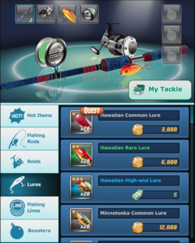 Modojo | Ace Fishing: Wild Catch - Lures Make All the Difference