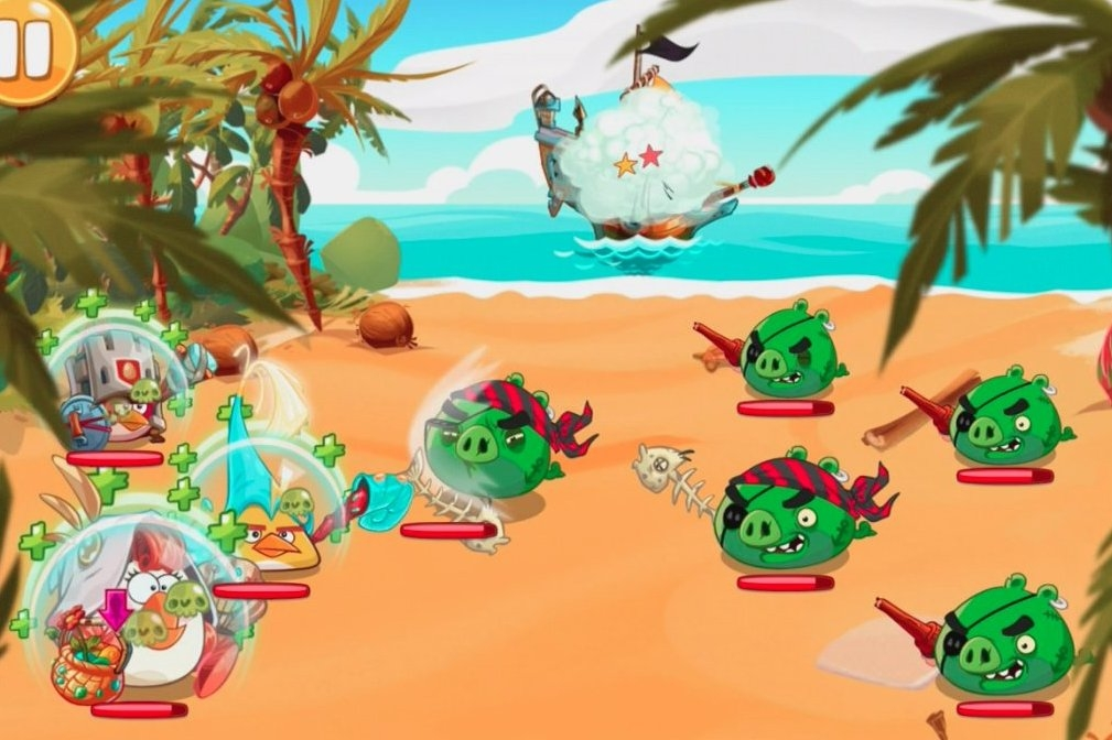Modojo | Angry Birds Epic - How To Beat The Pirate Pigs