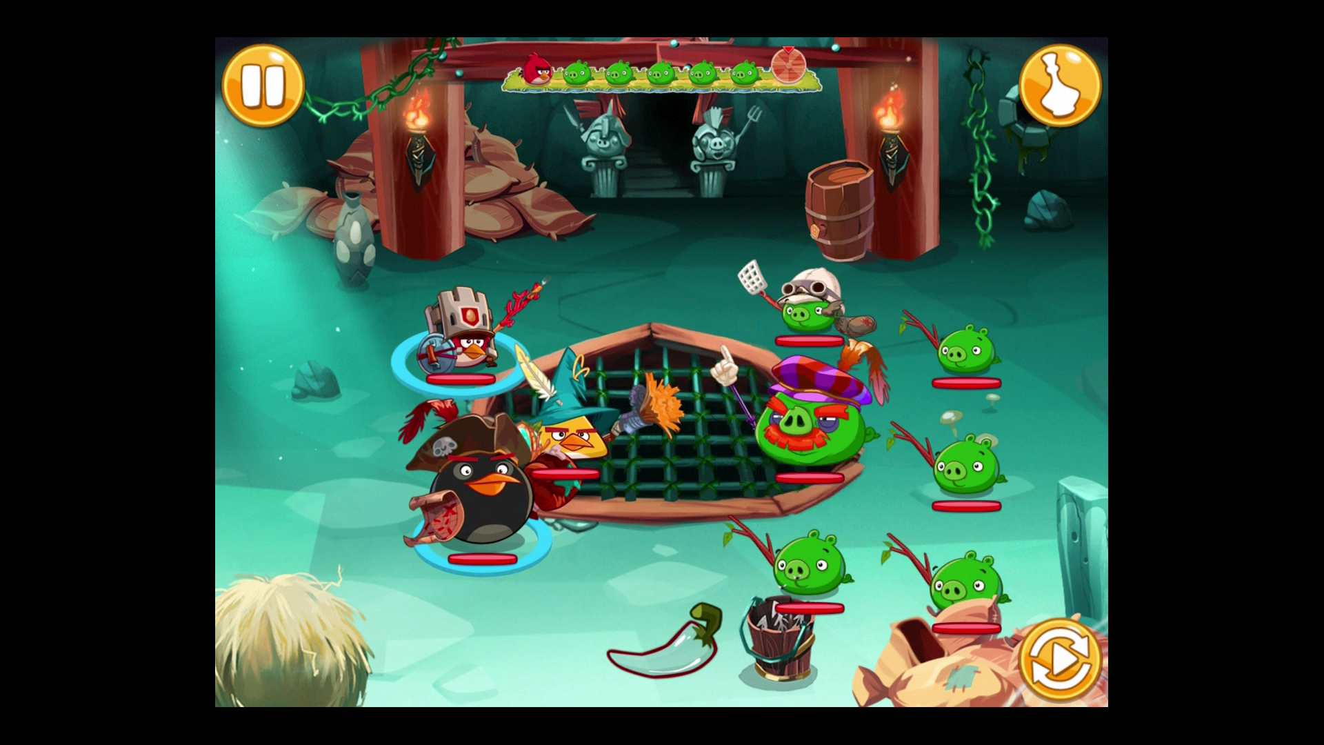 Modojo   Angry Birds Epic: Classes, Weapons And Off-Handed Items Tips