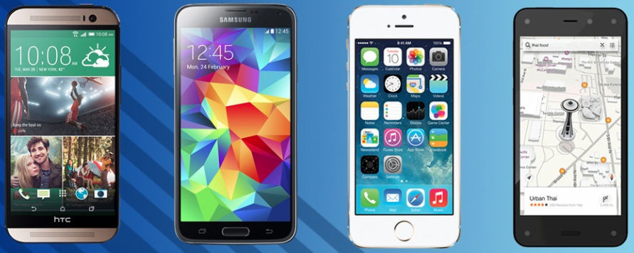 Modojo | Major Differences Between The Amazon Fire, Apple iPhone 6 And Samsung Galaxy S5