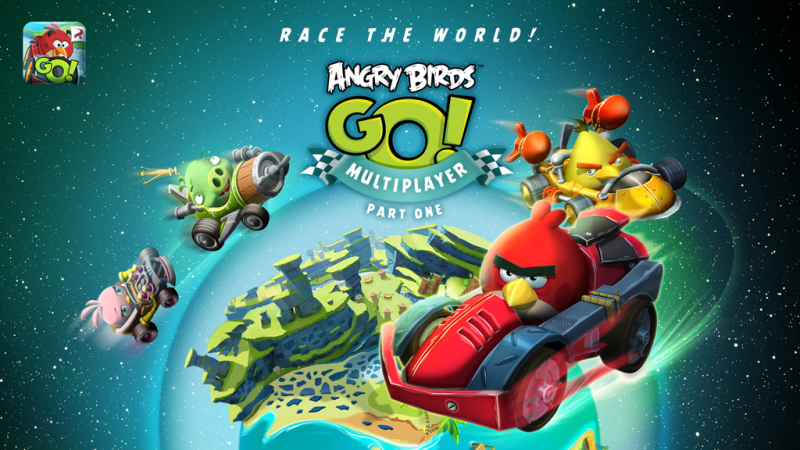 Modojo | Angry Bird Go! Multiplayer Update