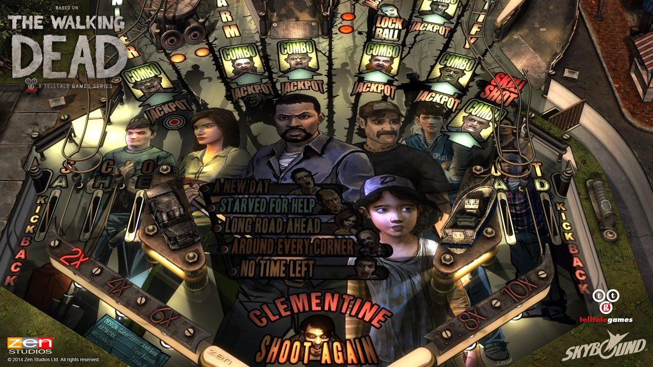 Modojo | The Walking Dead Pinball