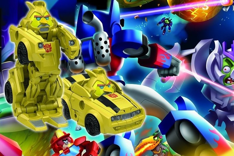 Modojo | Check Out Some Angry Birds Transformers Gameplay