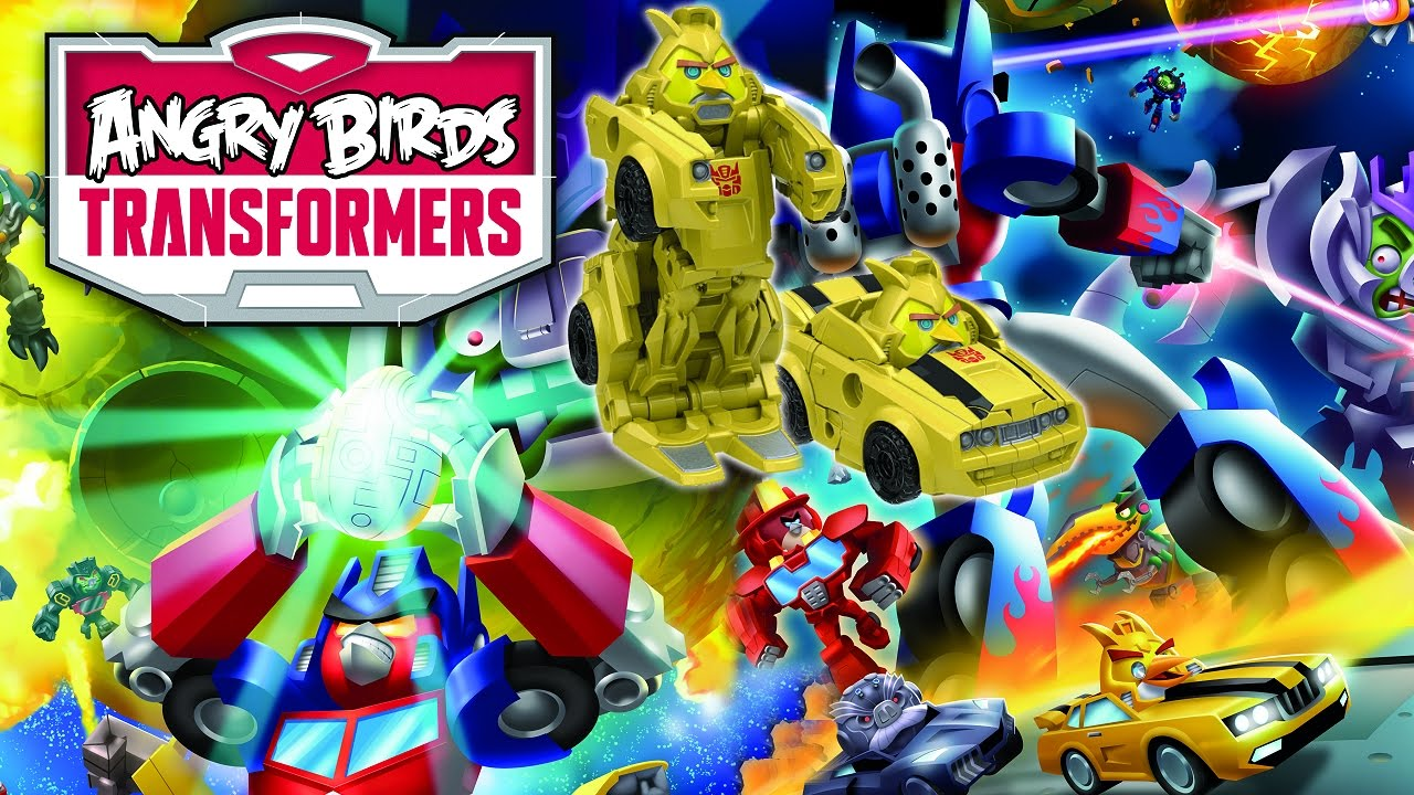 Modojo | Angry Birds: Transformers