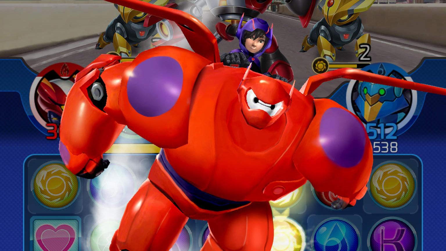 Modojo | Big Hero 6 Bot Fight
