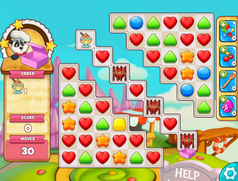 Modojo | Five Delicious Match Games You Should Snack On