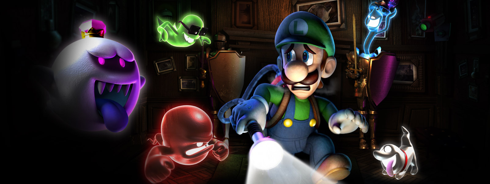 Modojo | Scare Up Some Fun With A Return To Luigi's Mansion