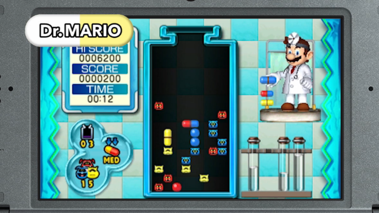 Modojo | Dr. Mario: Miracle Cure Releasing For 3DS on June 11