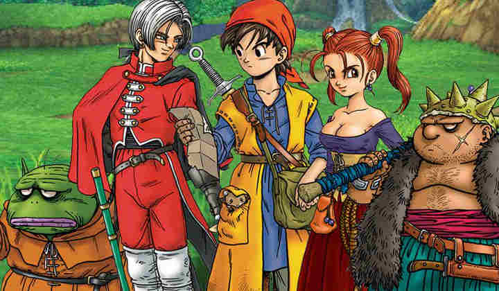 Modojo | Here's 11 Combined Minutes of Dragon Quest VIII Footage