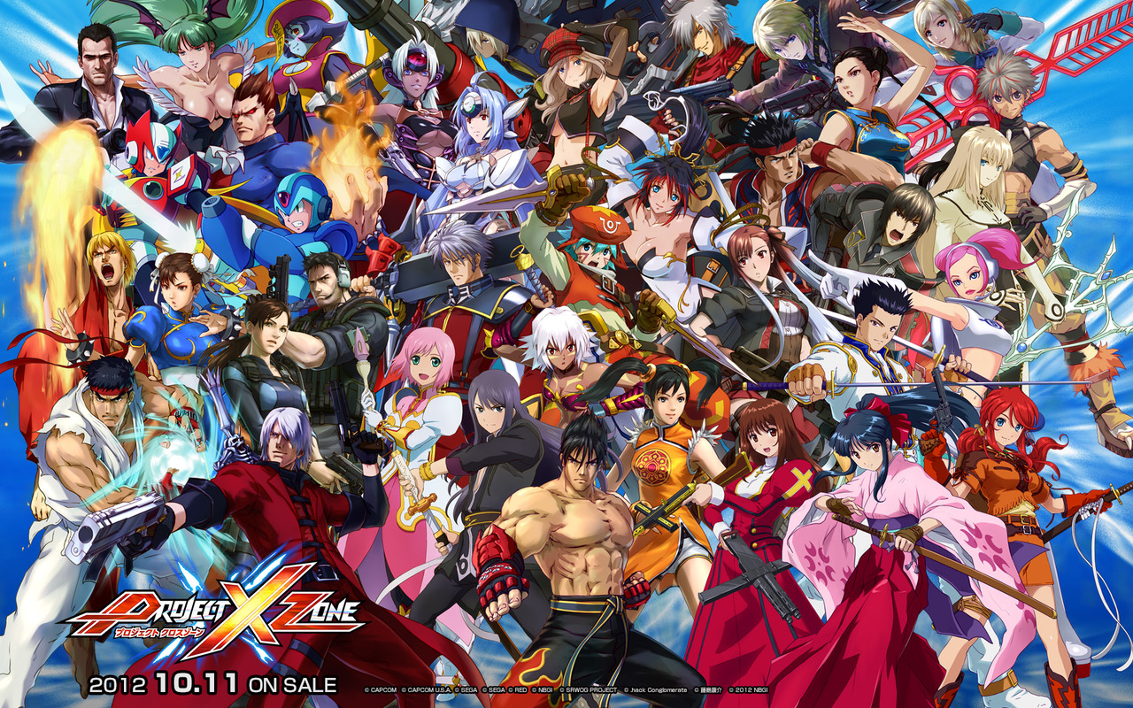 Modojo | Project X Zone 2 Finally Has Release Date in Japan