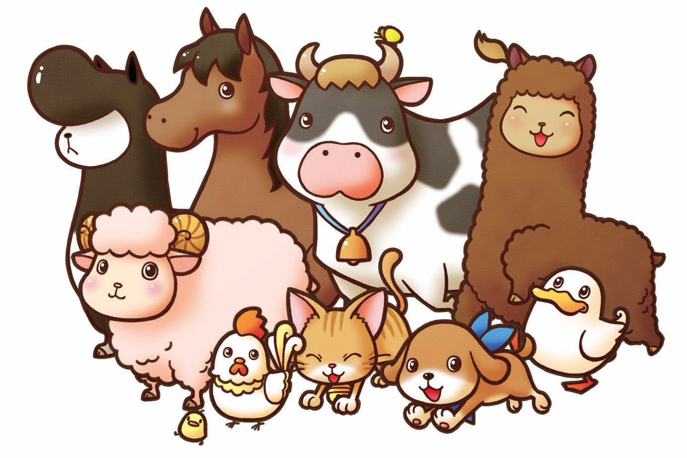 Modojo   This Week's Nintendo Download Games - Adorable Harvest Moon Animals Included!
