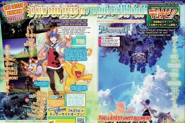 Modojo | Digimon World: Next Order Digivolving in Japan Next Year