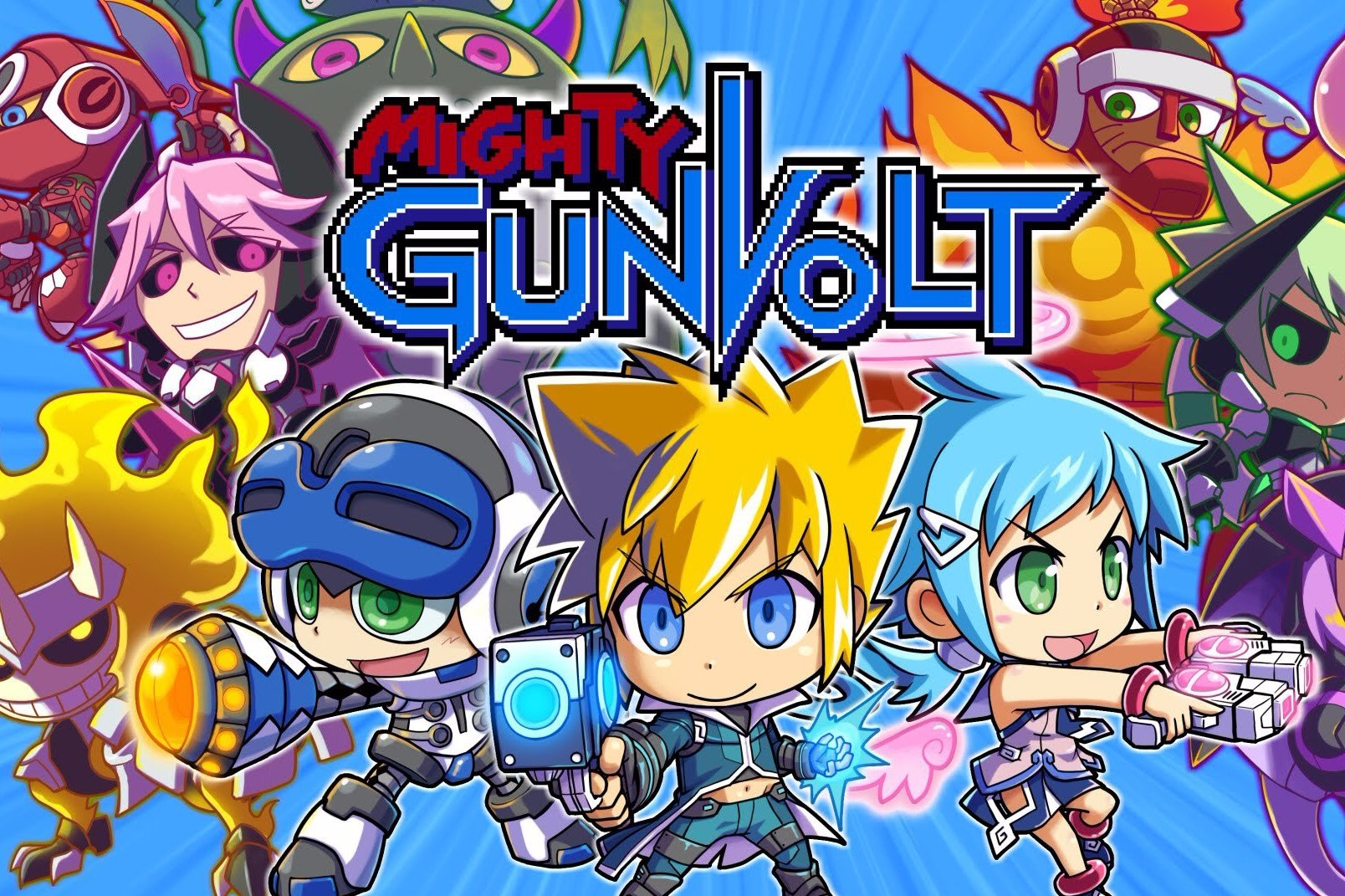Modojo | Gal Gunvolt is Coming to PS Vita in Japan