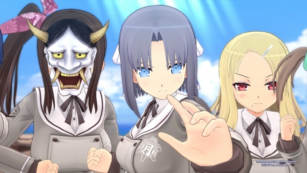 Modojo | Senran Kagura: Estival Versus Coming to PS Vita in Europe