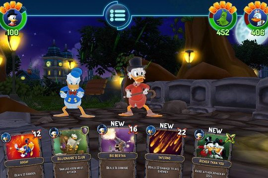 Modojo | The Duckforce Rises Is A Disney Card RPG