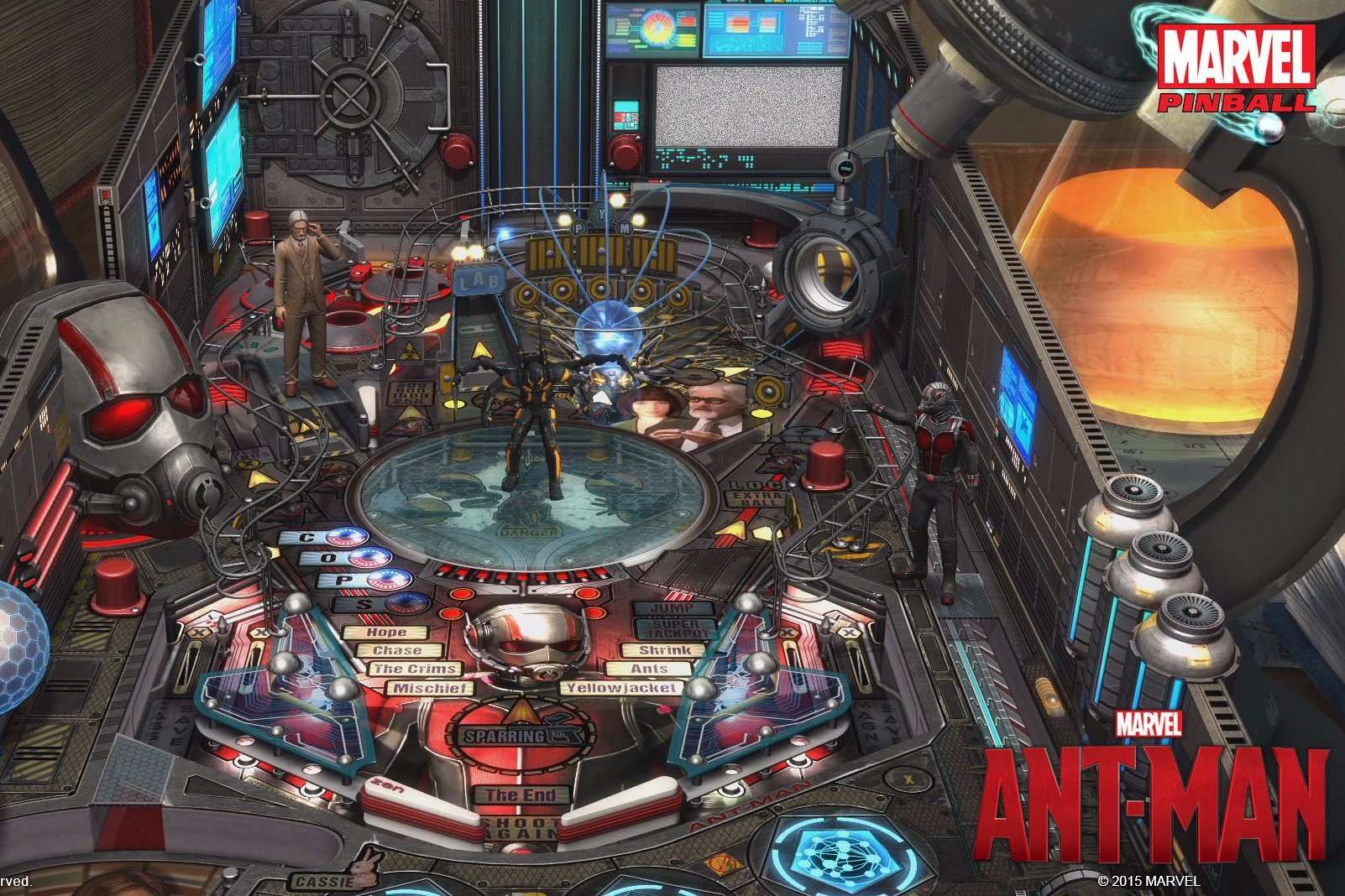 Modojo | Zen Studios Is Planning A Special Ant-Man Pinball Table