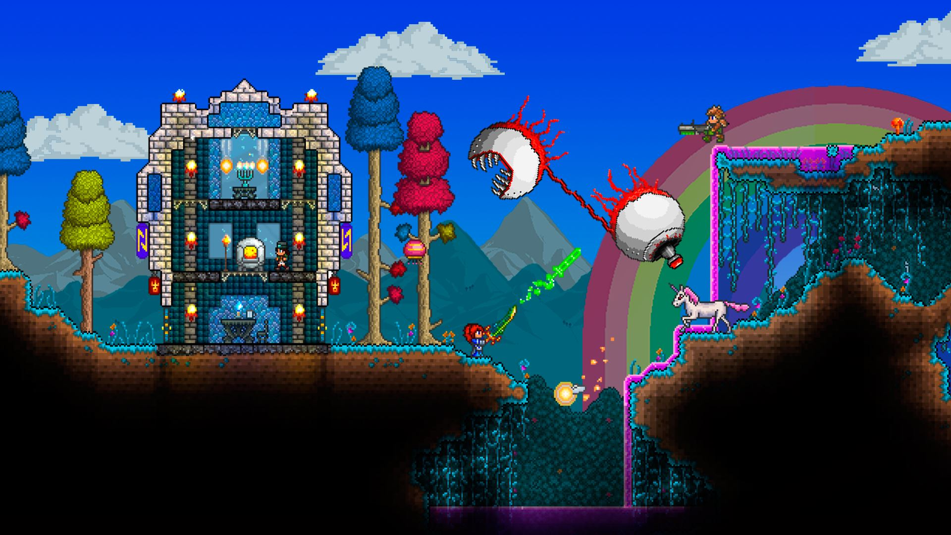 Modojo | Take a Look at Terraria for Nintendo 3DS in This New Trailer