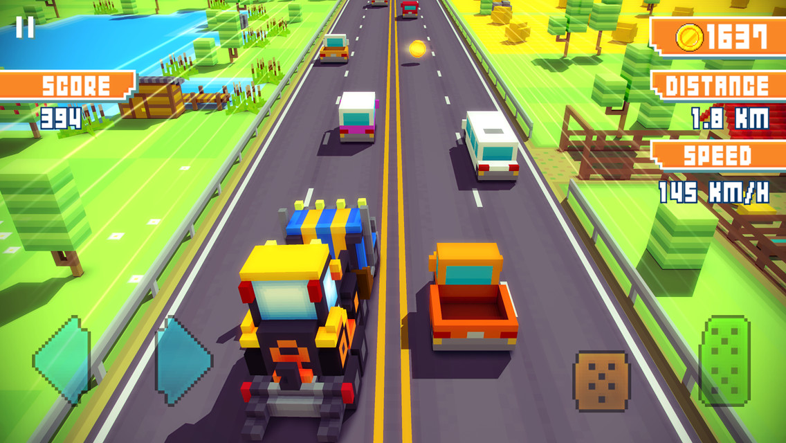 Modojo | Blocky Highway Is An Adorable New Take On Endless Runners