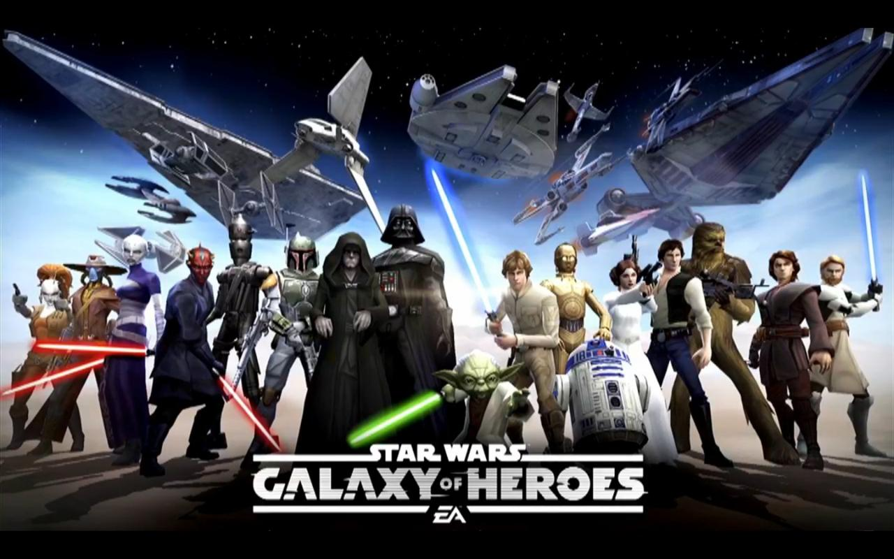 Modojo | The Latest Trailer For Star Wars: Galaxy of Heroes Shows Off Gameplay