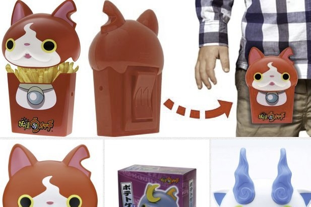 Modojo   These Yokai Watch French Fry Holsters Are Useless, Yet Awesome