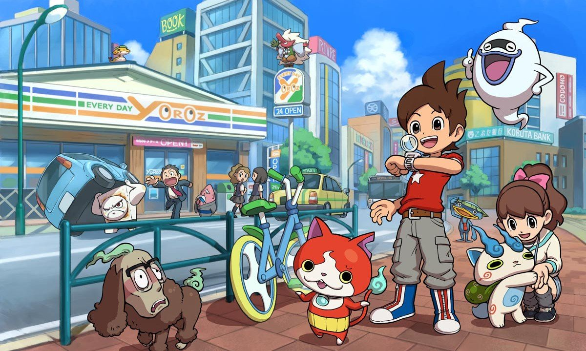 Modojo | Yo-kai Watch Has Finally Received A US Release Date