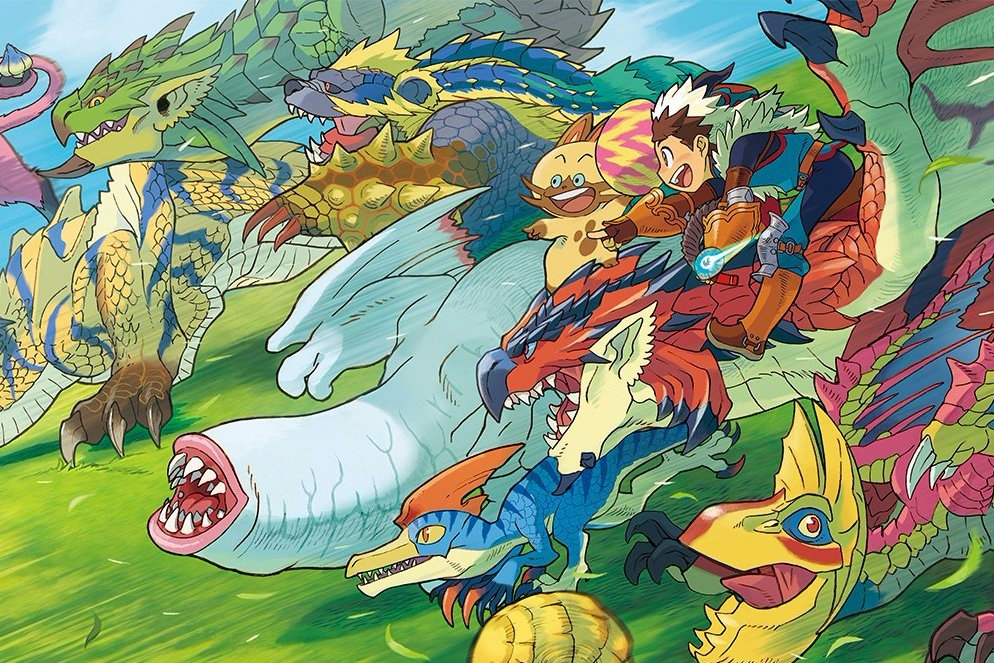 Modojo | Here Are The First Details on Monster Hunter Stories