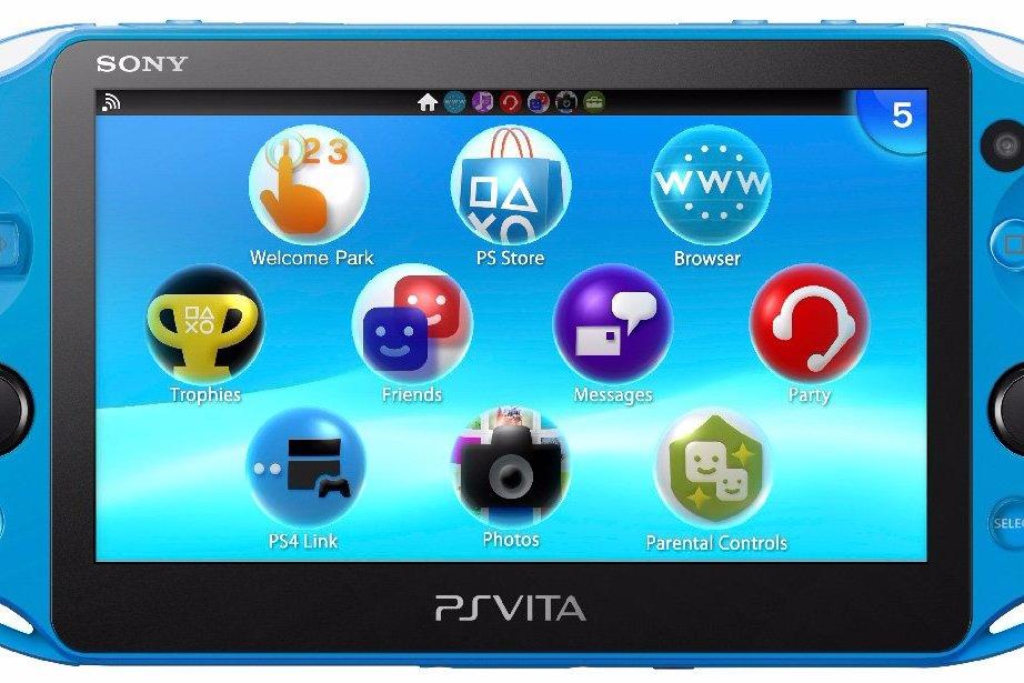 Modojo | This Aqua Blue PS Vita Is Everything