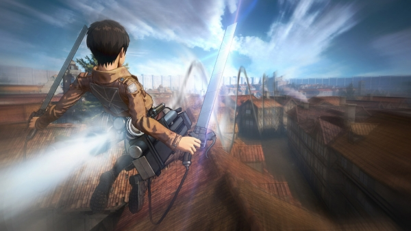 Modojo | Here's The First Look At Koei Tecmo's Attack on Titan Game