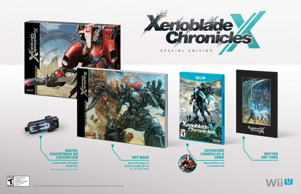 Modojo | If You Want the Special Edition of Xenoblade Chronicles X You Better Act Quick