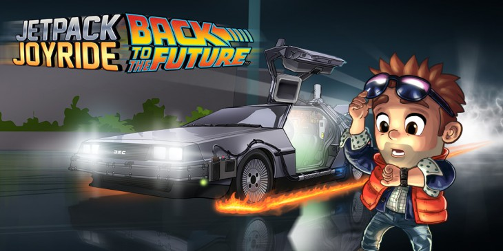 Modojo | Jetpack Joyride Gets A Back to the Future Update