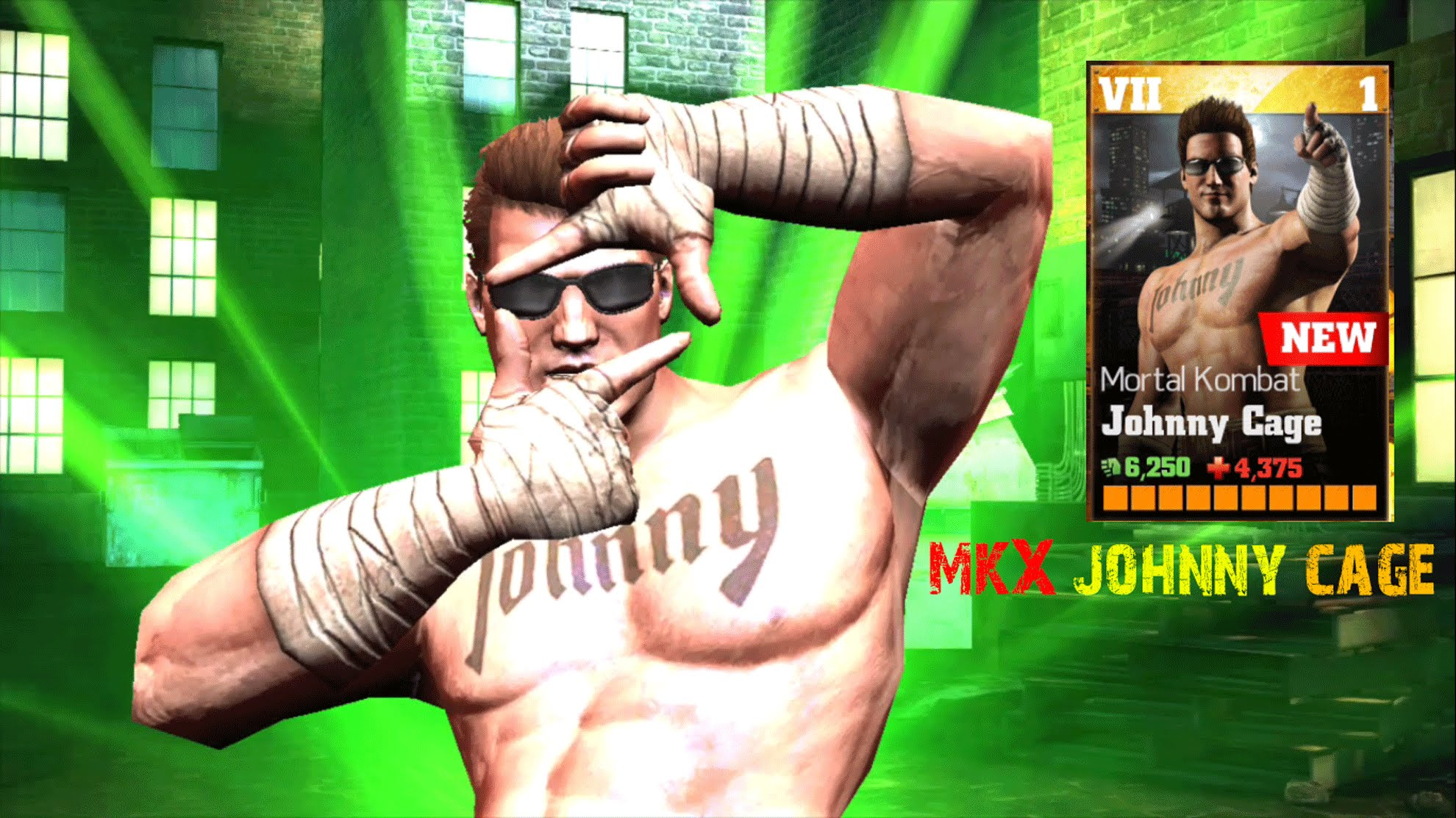 Modojo | Johnny Cage Brings The Swag To WWE Immortals